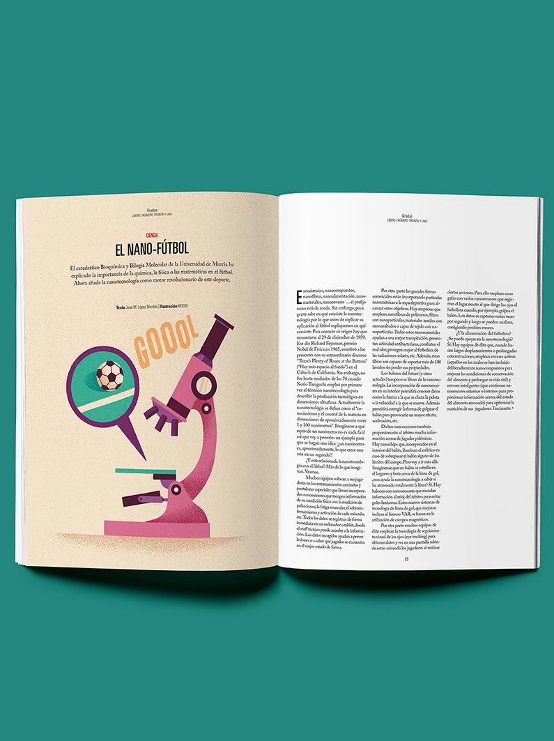 Daniel Diosdado: Revista Líbero. NanoFútbol