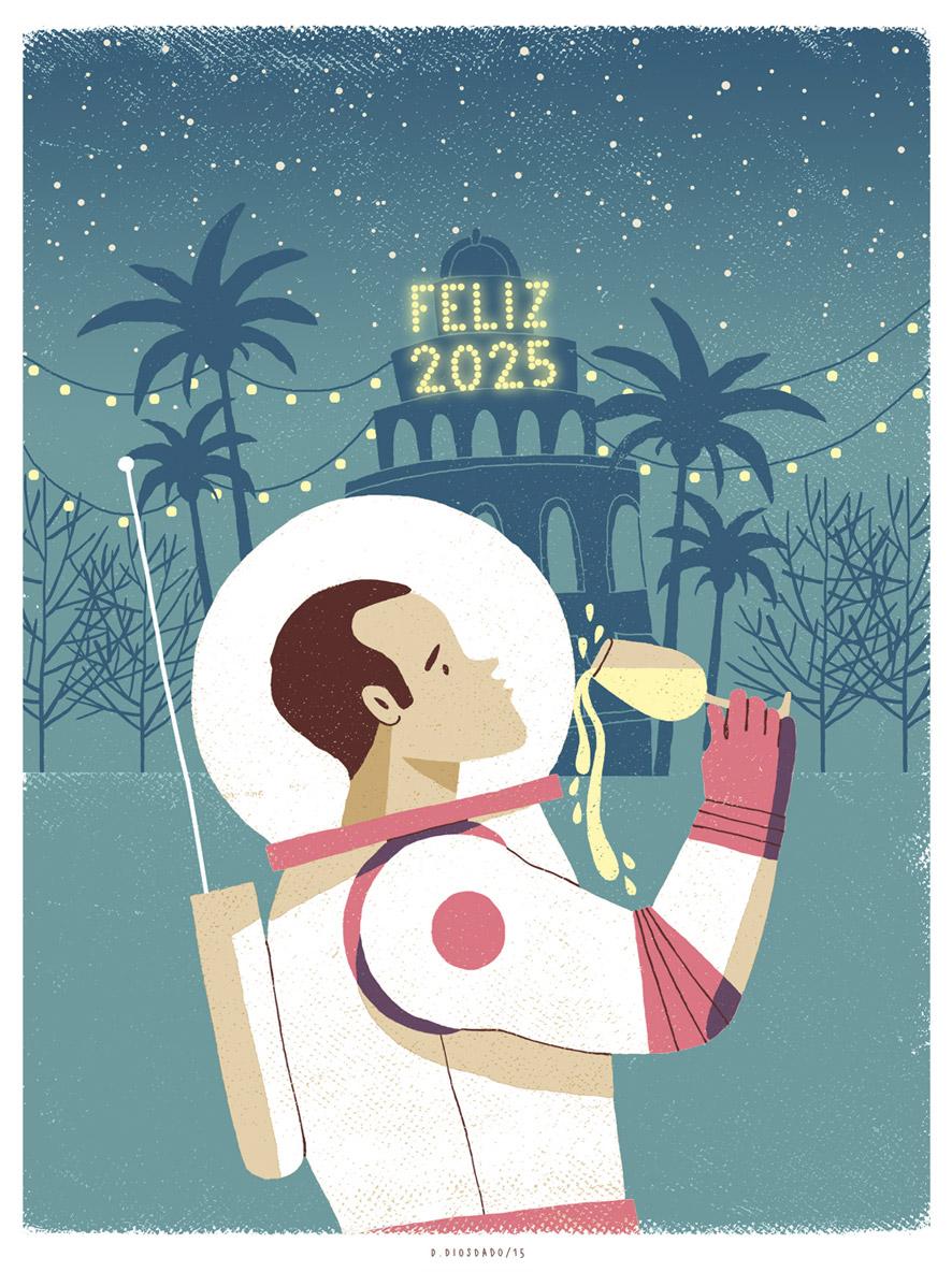 Daniel Diosdado: Feliz 2025