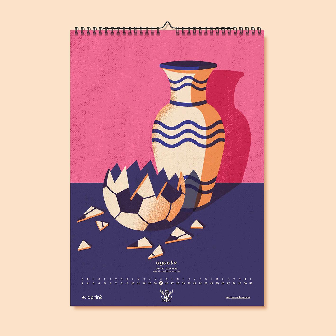 Daniel Diosdado: Calendario Macho Dominante