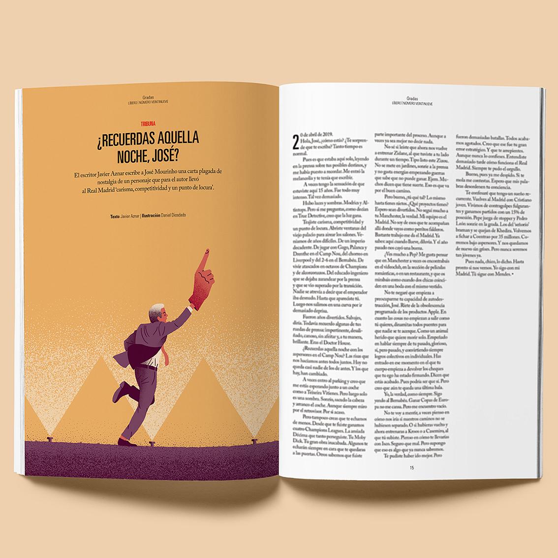 Daniel Diosdado: Revista Líbero. Mourinho