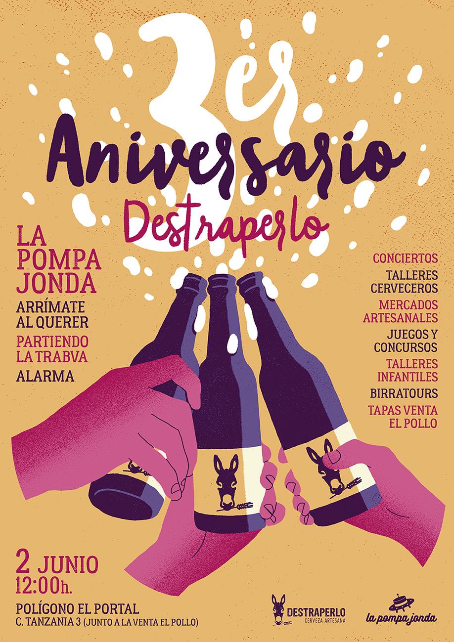Daniel Diosdado: Aniversario Destraperlo