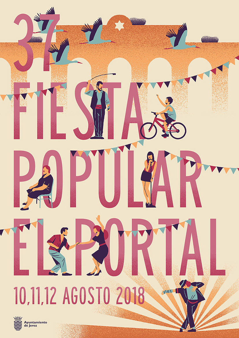 Daniel Diosdado: XXXVII Fiesta Popular El Portal