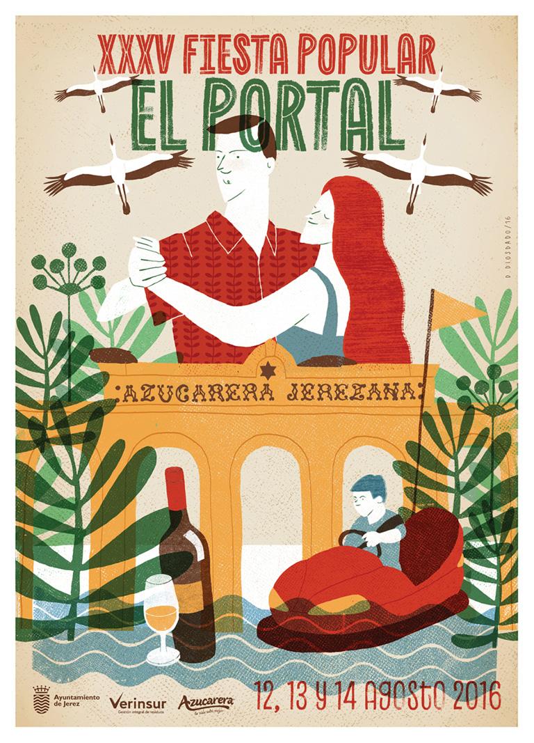 Daniel Diosdado: XXXV Fiesta Popular El Portal