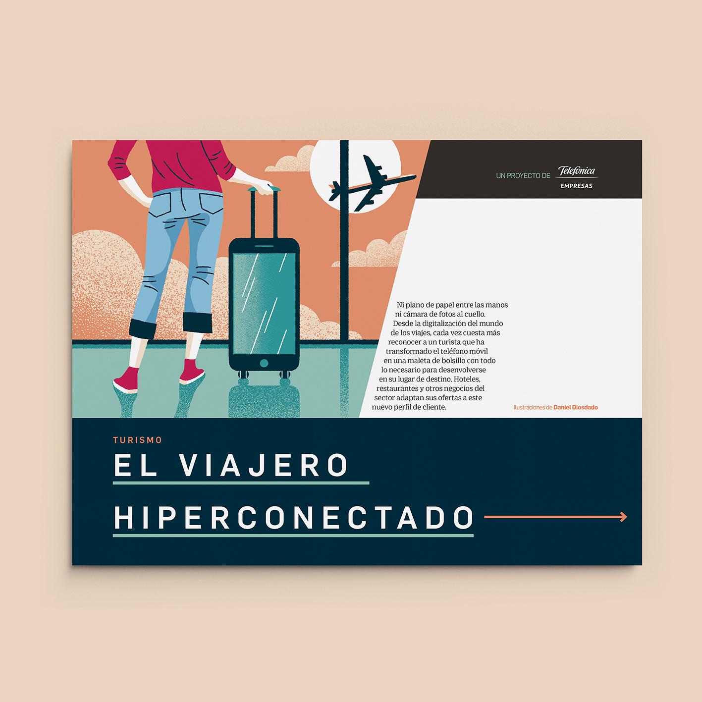 Daniel Diosdado: El Viajero Hiperconectado. Revista Retina