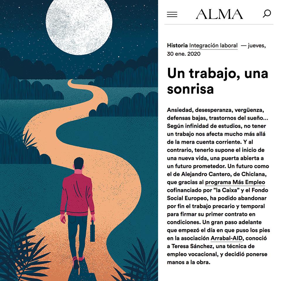 Daniel Diosdado: Un trabajo, una sonrisa. Alma