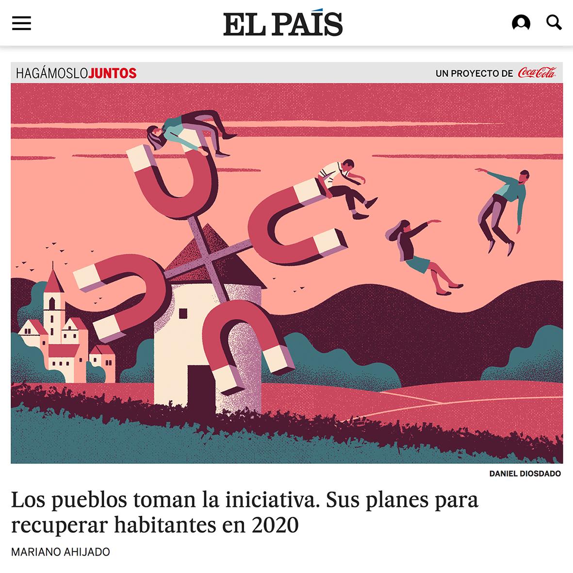 Daniel Diosdado: Poblar el Medio Rural. El País